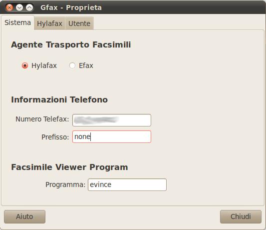 GFax - Client Hylafax per Ubuntu