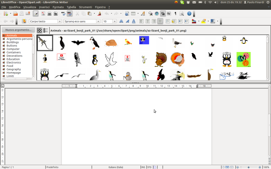 LibreOffice Clipart Gallery