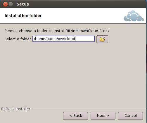 ownCloud folder