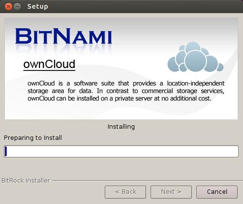 ownCloud installazione