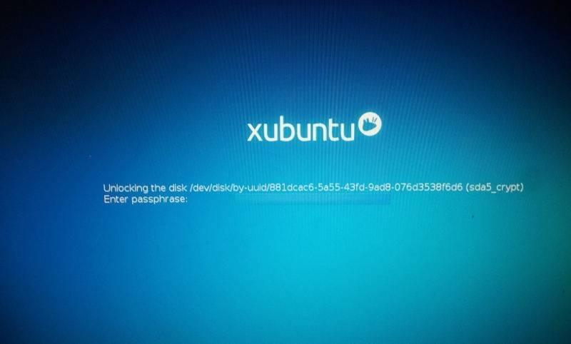 Ubuntu richiesta passphrase
