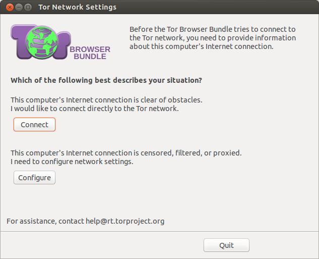 Tor Broser Connect