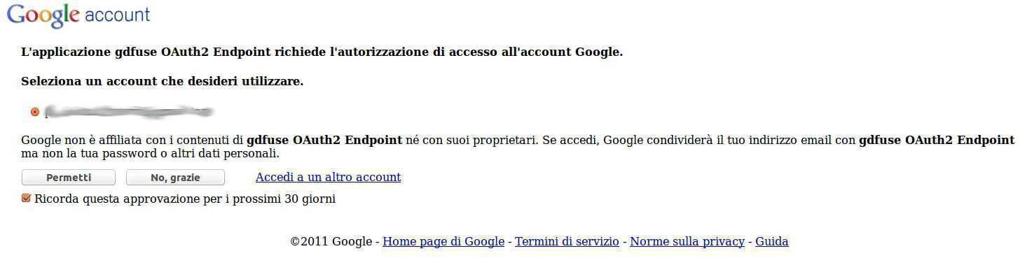Google Drive - OCamLFuse