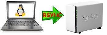 rsync backup su NAS