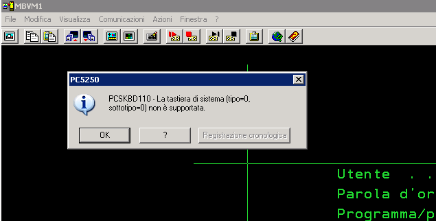 Remmina RDP PCSKBD110