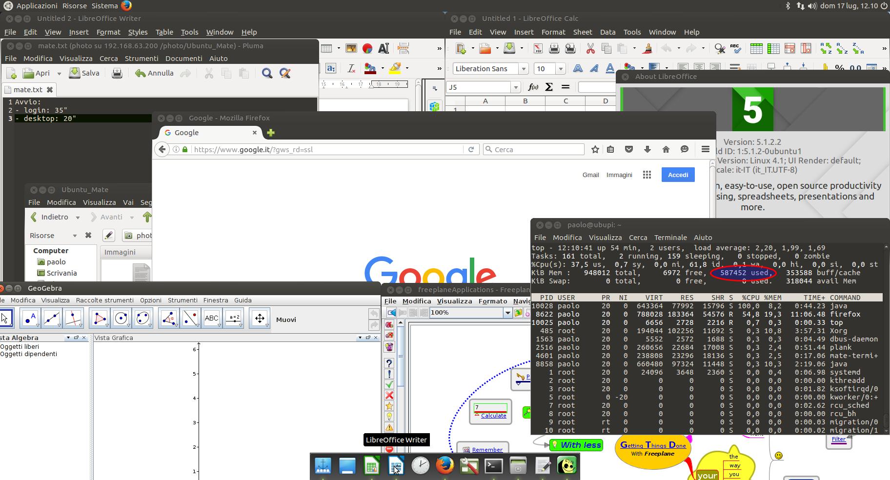 raspberry pi ubuntu mate ram 8 app